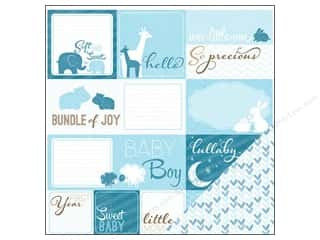 Imaginisce Paper 12x12 My Baby Cutouts Baby Boy (25 piece)