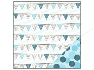 Imaginisce Paper 12x12 My Baby Boy Banners (25 piece)