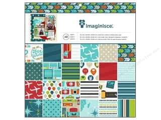 "Imaginisce: Imaginisce Paper Pad Perfect Vacation Travel 12""x 12"" 48pc"