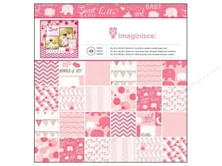 Imaginisce Paper Pad My Baby Girl 12x12 48pc