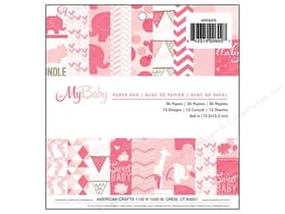 Imaginisce Paper Pad My Baby Girl 6x6 36pc