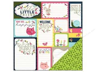 Imaginisce Paper 12x12 Welcome Spring Journaling (25 piece)