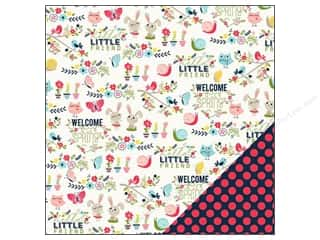 Imaginisce Paper 12x12 Welcome Spring Hello Friend (25 piece)