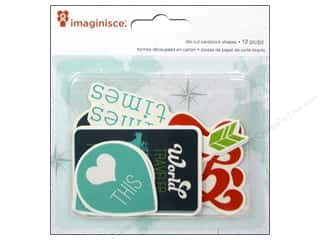 Imaginisce Paper Die Cuts / Paper Shapes: Imaginisce Die Cut Perfect Vacation Heart This