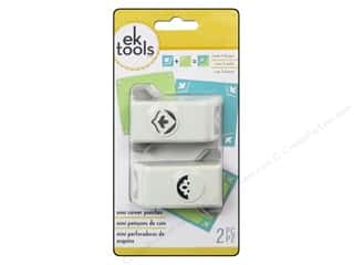 Unique $0 - $2: EK Paper Shapers Mini Corner Punch Sentiment 2pc