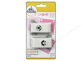 Flowers $0 - $2: EK Paper Shapers Mini Corner Punch Eden 2pc