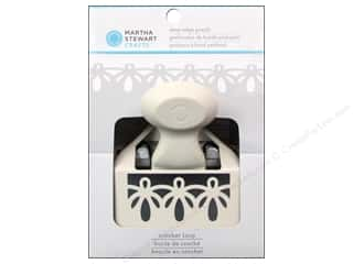 Martha Stewart Deep Edge Punch Crochet Loop
