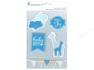 Imaginisce Dimensional Stickers: Imaginisce Stickers My Baby Boy 3D