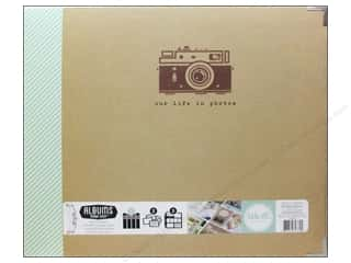 Scrapbook / Photo Albums $15 - $20: We R Memory Keepers 3-Ring Album 12 x 12 in. Albums Made Easy Teresa Collins Snapshot
