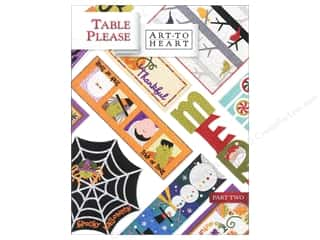 Halloween Books & Patterns: Art to Heart Table Please Part Two Book