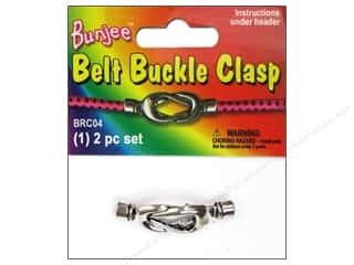 Buckles 1 in: Pepperell Bungee Cord Bracelet Belt Buckle Clasp 1pc