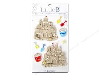 Little B, Inc Beach & Nautical: Little B Sticker Medium Sand Castles