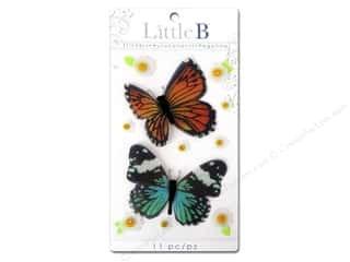 Little B Decorative Sticker Med Butterflies