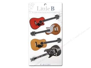 Little B Sticker Med Guitars