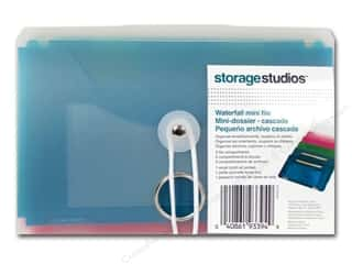 Cropper Hopper Blue: Storage Studios Waterfall Mini File