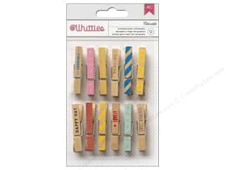 American Crafts Clothespins 12 pc. Adorable