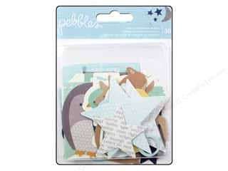 Pebbles Inc Animals: Pebbles Embellishment Special Delivery Boy Die Cut Shape