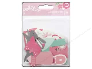Pebbles Inc Animals: Pebbles Embellishment Special Delivery Girl Die Cut Shape