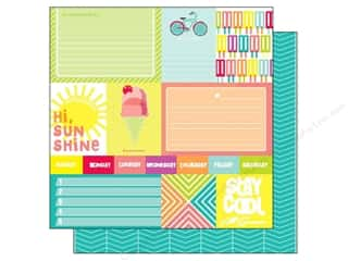 Pedal Stay Co., Inc: American Crafts 12 x 12 in. Paper Sunny Day (25 piece)