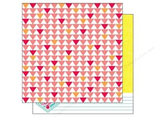 American Crafts 12 x 12 in. Paper Heat Wave (25 piece)