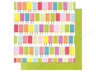 American Crafts 12 x 12 in. Paper Popsicles (25 piece)