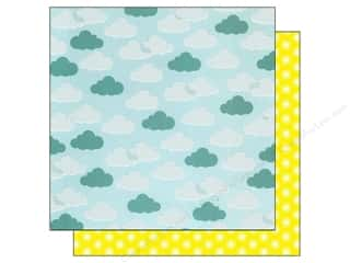 American Crafts 12 x 12 in. Paper Summer Blue Skies (25 piece)