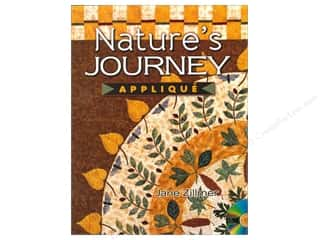 Books & Patterns American Quilter's Society: American Quilter's Society Nature's Journey Applique Book