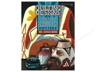 American Quilter's Society Quilting Patterns: American Quilter's Society Quilting Designs From Native American Pottery Book by Dr. Joyce Mori