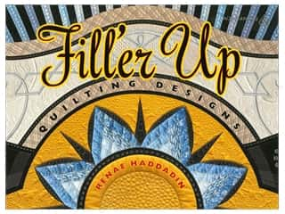 Clearance Length: American Quilter's Society Filler Up Quilting Designs Book by Renae Haddadin