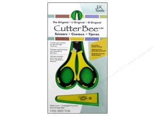 Cutting Mats Scissors, Edgers & Paper Cutting Tools: EK Cutter Bee Scissors 5 in.