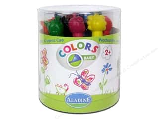 New: Aladine Crayons 12 pc. Animals