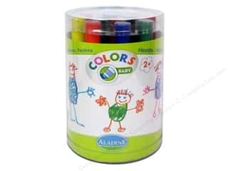 Children Black: Aladine Children's Markers 12 pc.