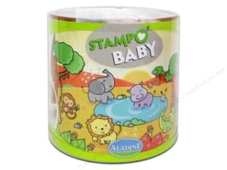 Rubber Stamping Brown: Aladine StampO' Baby Stamps Jungle