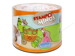 New: Aladine StampO' Minos Stamps Princess & Frog
