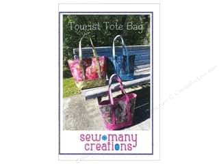 Tote Bag Sewing & Quilting: Sew Many Creations Tourist Tote Bag Pattern