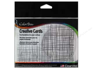 Weekly Specials Inkadinkado Stamping Gear: ColorBox Creative Cards and Envelopes Burlap