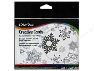 Weekly Specials Inkadinkado Stamping Gear: ColorBox Creative Cards and Envelopes Winter