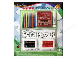 School Brown: ColorBox Kit My First Scrapbook School