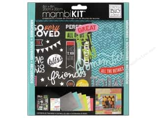 "Me&My Big Ideas Kit Scrapbook 8""x 8"" Chalk Our Song"