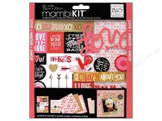 "Crafting Kits Valentine's Day: Me&My Big Ideas Kit Scrapbook 8""x 8"" You're The Best"