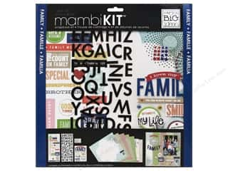 "Crafting Kits MAMBI Kit Scrapbook: Me&My Big Ideas Kit Scrapbook 12""x 12"" I Love My Family"