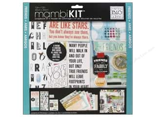 "Chipboard MAMBI Kit Scrapbook: Me&My Big Ideas Kit Scrapbook 12""x 12"" Mixed Friends"