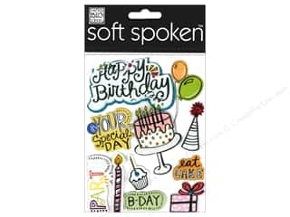 2013 Crafties - Best Adhesive: MAMBI Sticker Soft Spoken Doodles Eat Cake