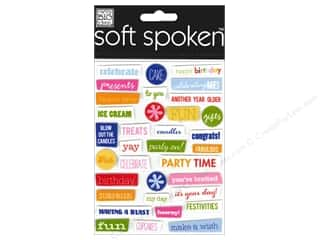MAMBI Sticker Soft Spoken Birthday Pebbles