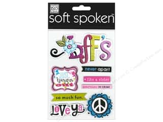 2013 Crafties - Best Adhesive: MAMBI Sticker Soft Spoken Flower BFF's