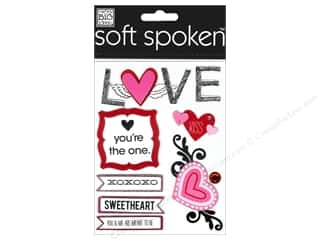 2013 Crafties - Best Adhesive: MAMBI Sticker Soft Spoken Sketchy Love