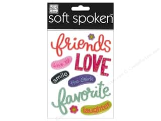 2013 Crafties - Best Adhesive: MAMBI Sticker Soft Spoken Friends Love Smile
