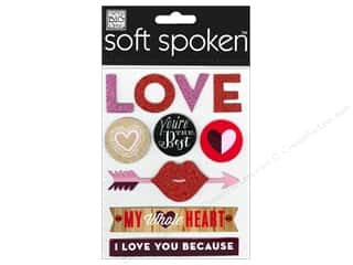Mother's Day Gift Ideas $10 - $25: Me&My Big Ideas Sticker Soft Spoken You're The Best