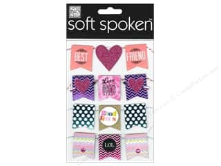 2013 Crafties - Best Adhesive: MAMBI Sticker Soft Spoken Banner Best Friends
