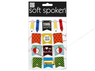 Me & My Big Ideas Back To School: Me&My Big Ideas Sticker Soft Spoken Banner School Days